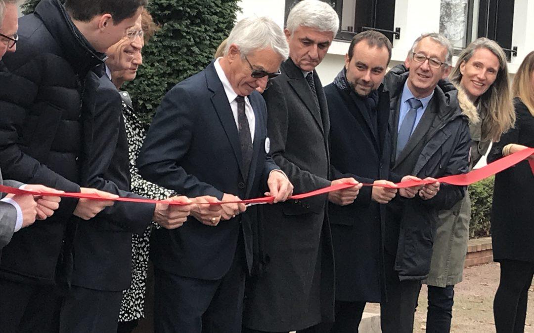 Inauguration de l'IUT sur le Campus de l'Espace à Vernon
